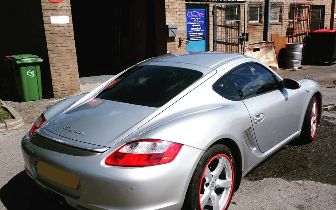Porsche Window Tinting in North Wales