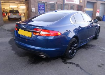 Jaguar XF Window Tinting