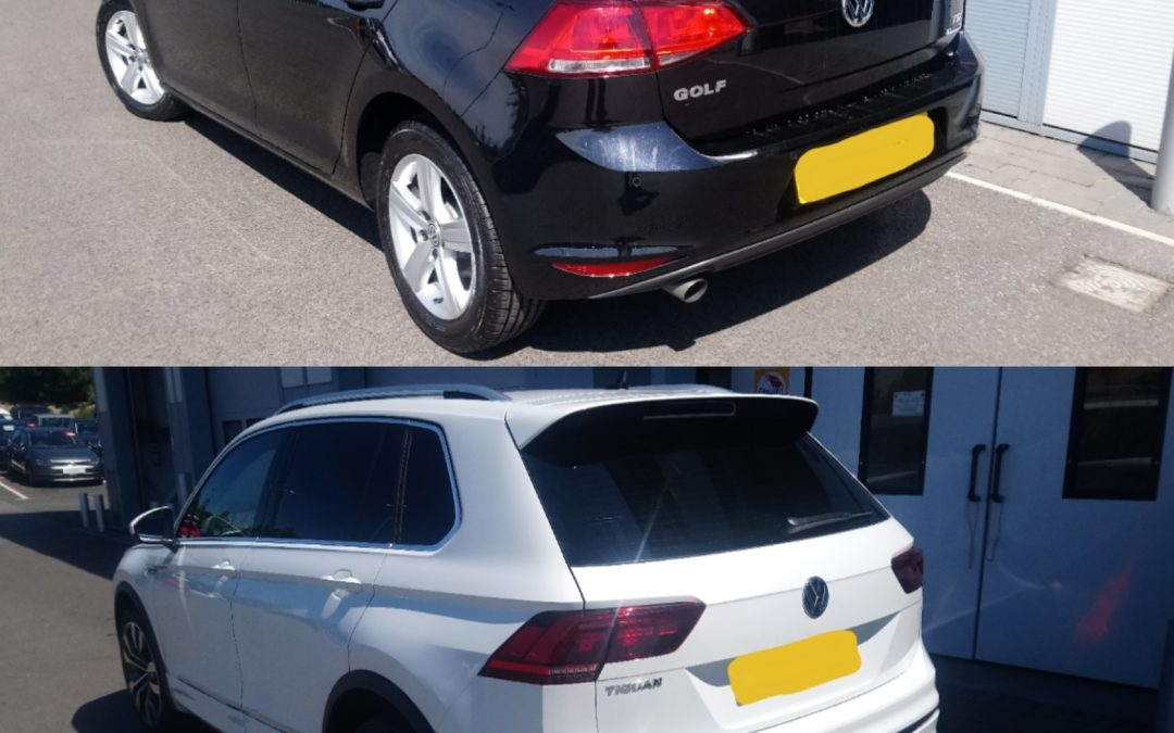 Golf and Tiguan tinting
