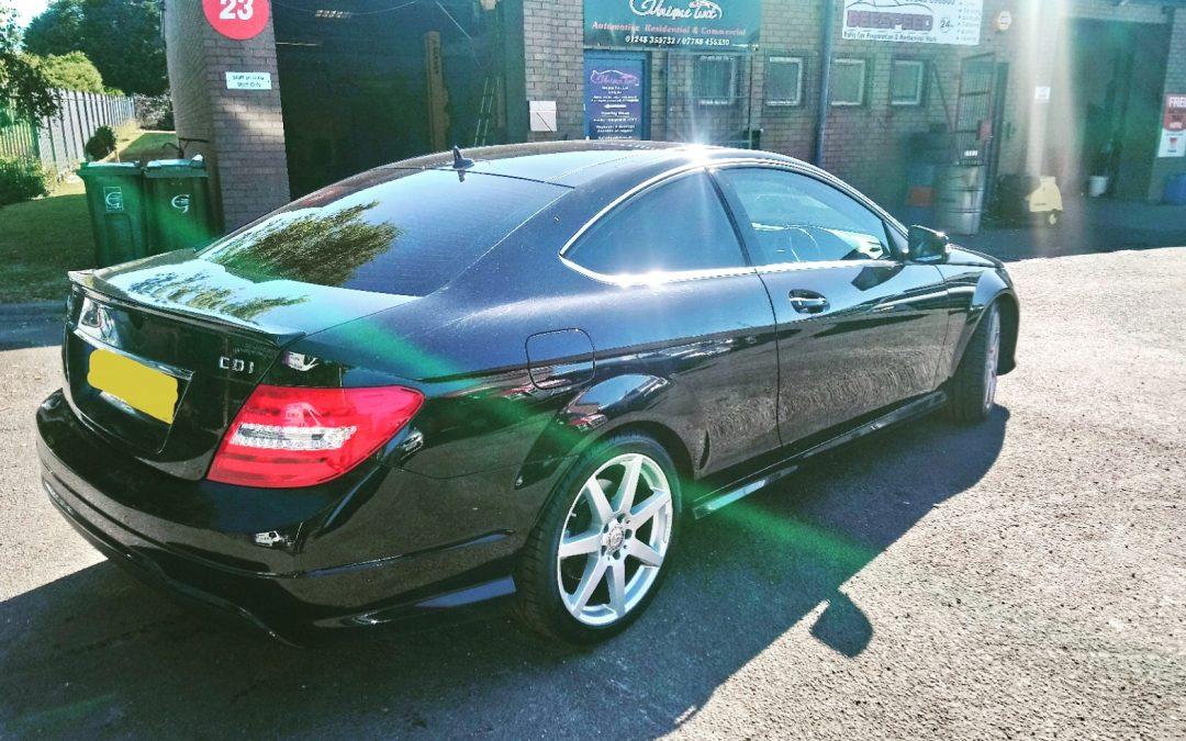 Window tinting Mercedes C-class