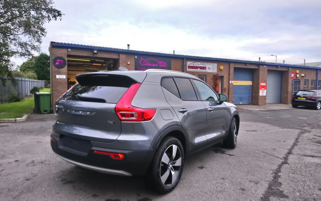 New Volvo XC40 With Factory Match Tint