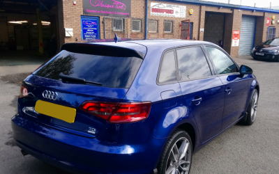 Audi A3 with 15% tint