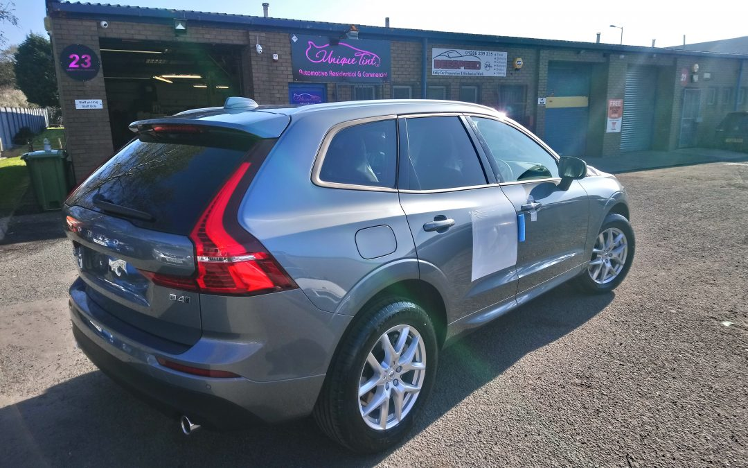 Tinting of the new Volvo XC60