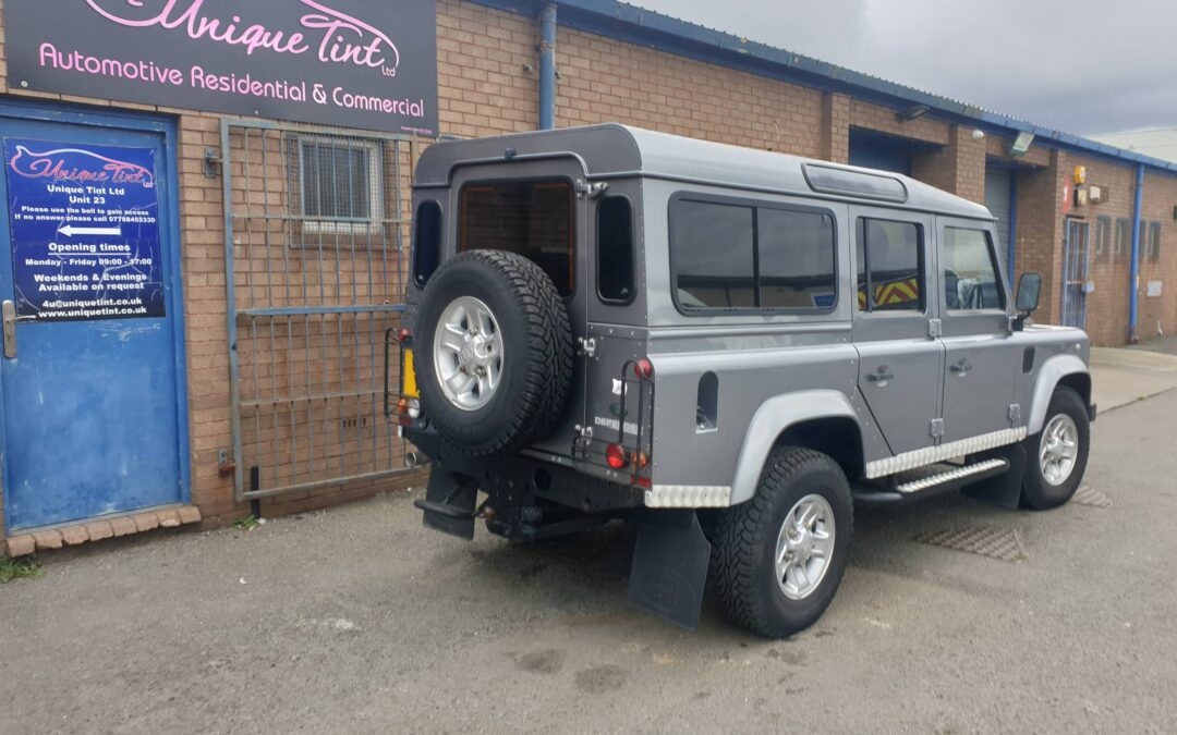 Land Rover Defender 110 Tinted 15%