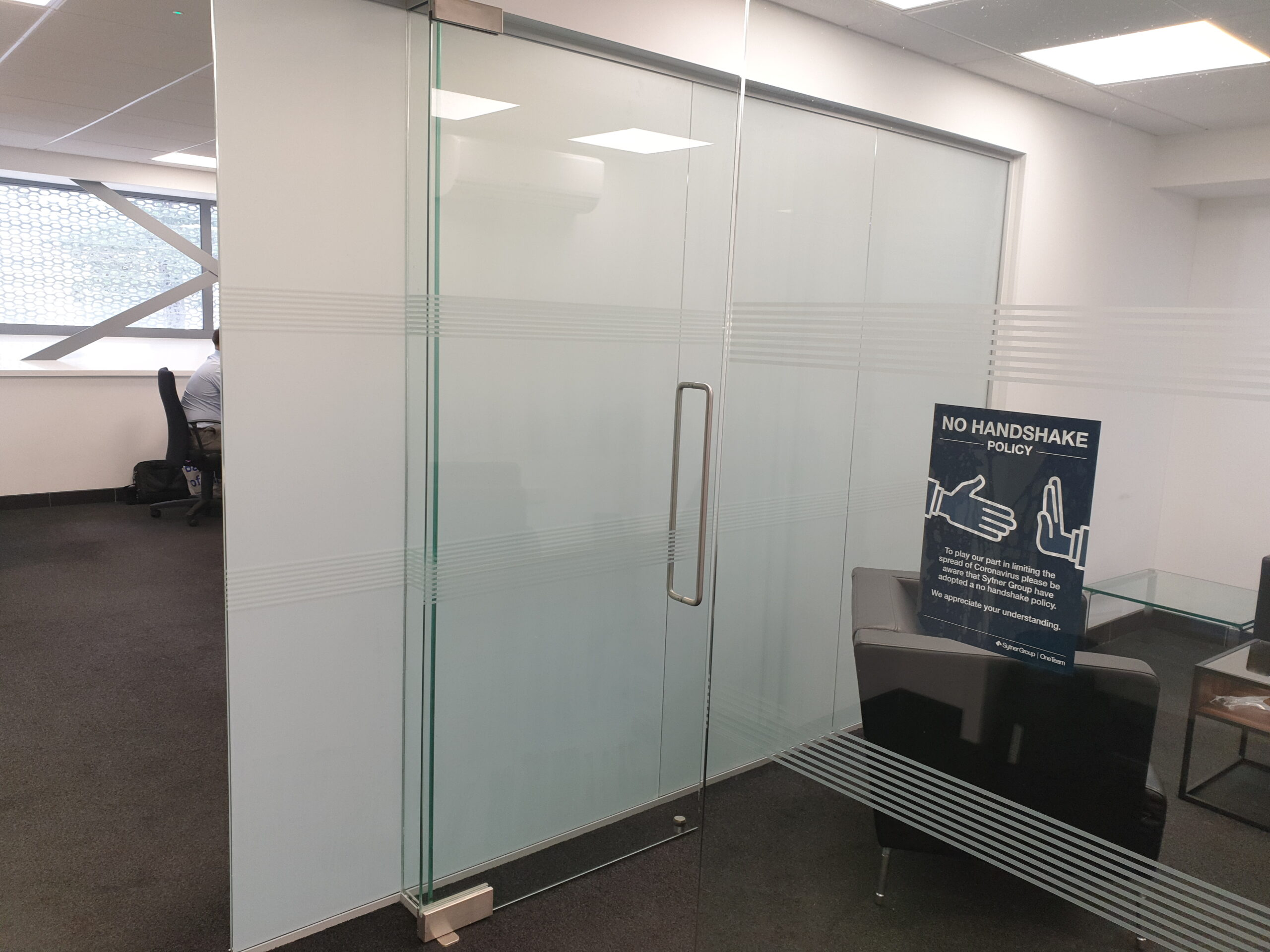 Privacy Glass White Frost
