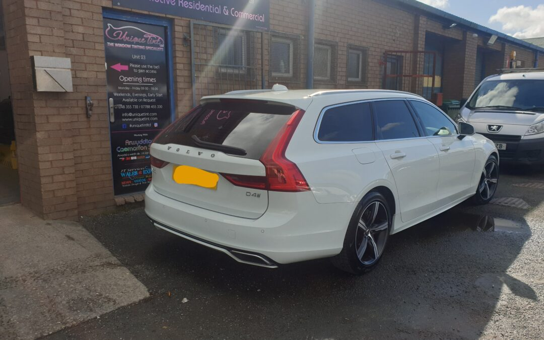 VOLVO V90 windows tinted to match factory look