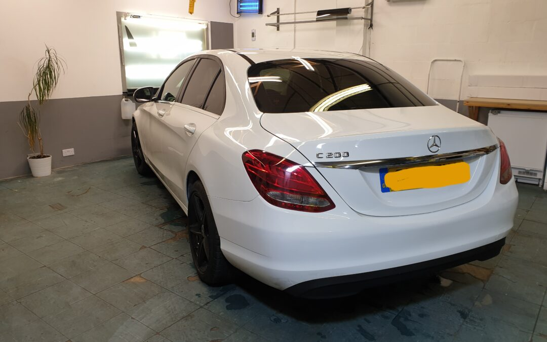 Mercedes C Class with 15% tint