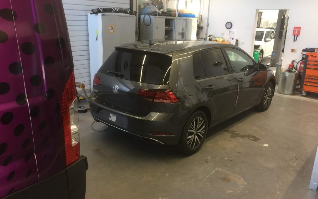 Recent Tinting of new VW Golf